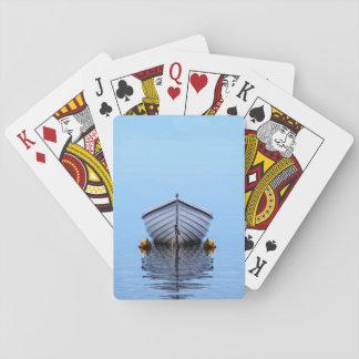 Barco solitario baraja de cartas