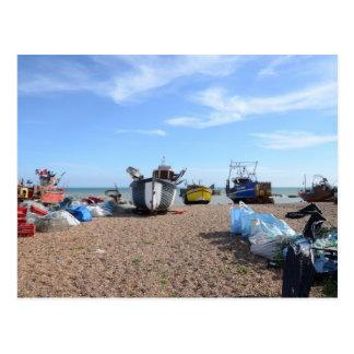 Barcos de pesca de Hastings Postal
