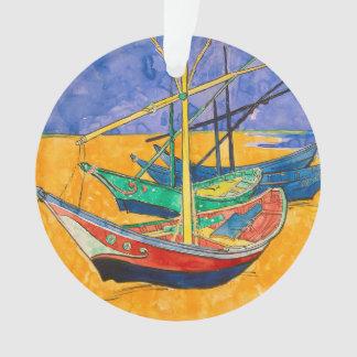 Barcos de Vincent van Gogh impresionistas Adorno