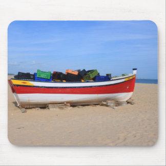 Barcos en Costa del Sol Alfombrilla De Ratón