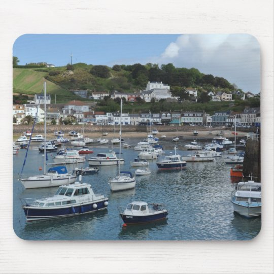 Barcos Mousepad del puerto de Gorey Alfombrilla De Ratón