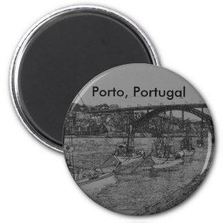 Barcos, Oporto, Portugal Imanes