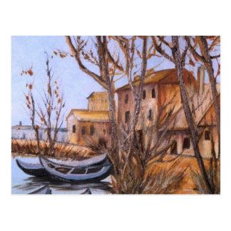 Barcos (vendido) postal