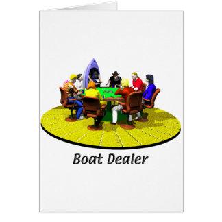 Barcos, yates - distribuidor autorizado del barco tarjeta de felicitación