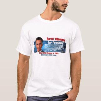 Baritt Obomney para la camiseta del presidente