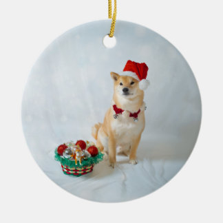 Barkley Santa - ornamento