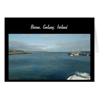 Barna, Galway, Irlanda Tarjeta De Felicitación