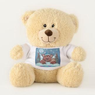 Barney el oso de peluche del oso