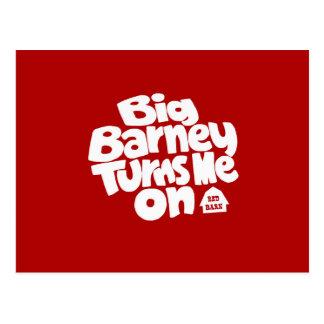 Barney grande me gira postal