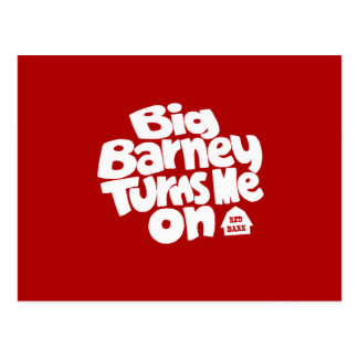 Barney grande me gira postales