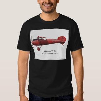 Barón rojo aka Manfred von Richthofen y su avión Camisas