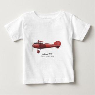 Barón rojo aka Manfred von Richthofen y su avión Camiseta De Bebé