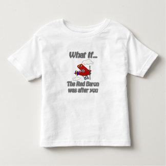 Barón rojo camiseta de bebé