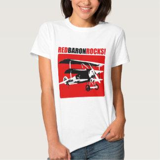 Barón rojo Rocks Camisas