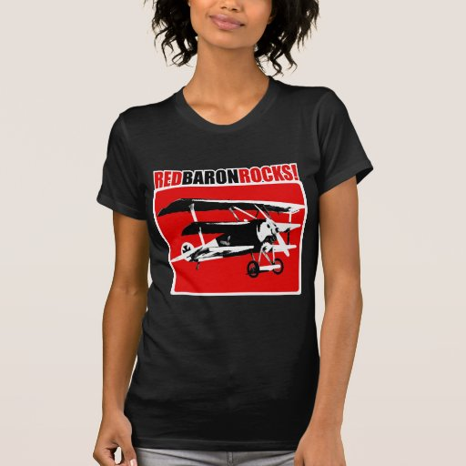 ¡Barón rojo Rocks! Camisetas