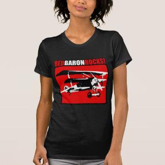 ¡Barón rojo Rocks! Camiseta