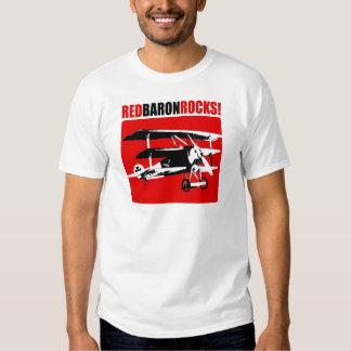 Barón rojo Rocks Camiseta