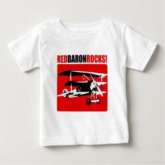 ¡Barón rojo Rocks! Camiseta Para Bebé