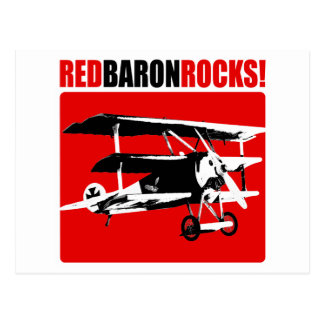 ¡Barón rojo Rocks! Postal