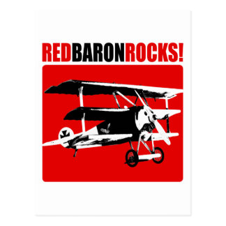¡Barón rojo Rocks! Tarjeta Postal