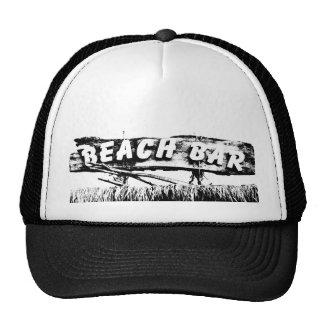 Barra de la playa gorras de camionero