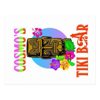 Barra de Tiki de Cosmo Postal