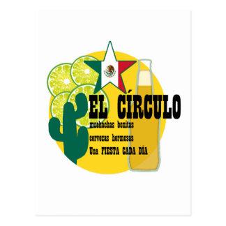 Barra del mexicano del EL Circulo Postal