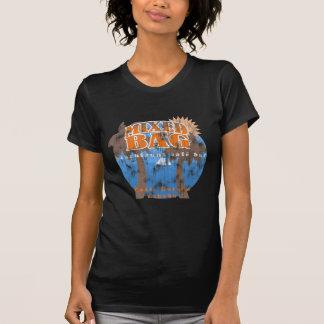 Barra española de la mezcla (mirada llevada) camiseta