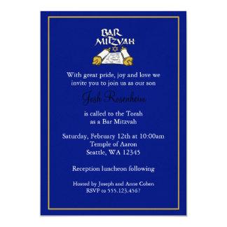 Barra Mitzvah Invitación 12,7 X 17,8 Cm