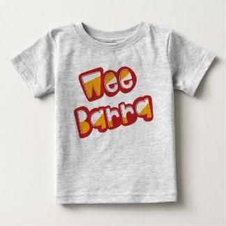 Barra pequenito, camiseta escocesa del dialecto,