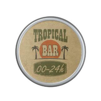 Barra tropical altavoz