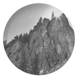 Barranco de Boulder del pináculo de los estrechos Plato