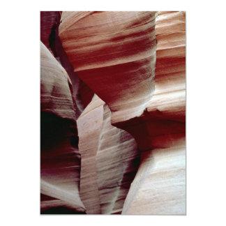 Barranco del sacacorchos, página, Arizona, Invitación 12,7 X 17,8 Cm