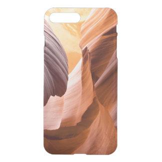 Barranco iPhone7 del antílope más el caso claro Funda Para iPhone 7 Plus