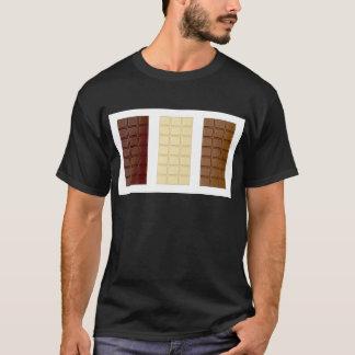 Barras de chocolate camiseta