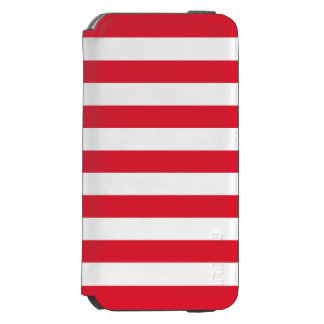 Barras y estrellas de la bandera de los E.E.U.U. Funda Cartera Para iPhone 6 Watson