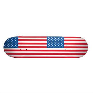 Barras y estrellas de la bandera de los E.E.U.U. Monopatín 19,6 Cm