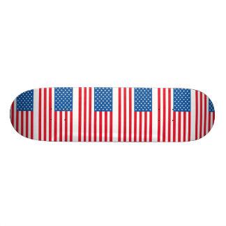 Barras y estrellas de la bandera de los E.E.U.U. Monopatín 21,1 Cm