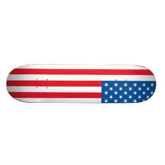 Barras y estrellas de la bandera de los E.E.U.U. Monopatines Personalizados