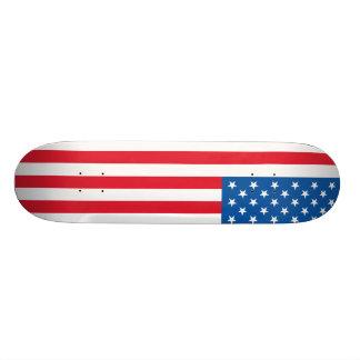 Barras y estrellas de la bandera de los E.E.U.U. Patines Personalizados