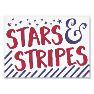 Barras y estrellas, decoración patriótica, 4ta de foto