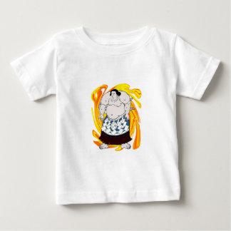 Barrendero del sumo camiseta de bebé