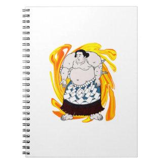 Barrendero del sumo cuaderno