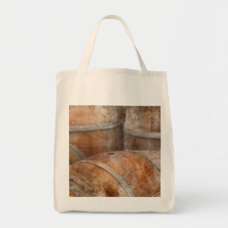 Barril de vino del roble bolso de tela