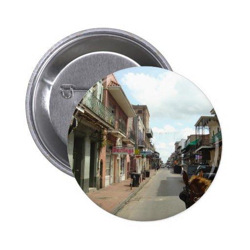 Barrio francés de New Orleans Pins