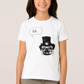Barro amasado de Moustached Camiseta