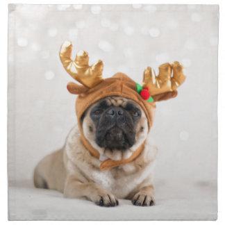 Barro amasado de Navidad Servilleta De Tela