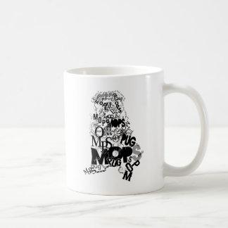 Barro amasado de tipos taza de café