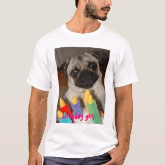 Barro amasado del cumpleaños camiseta