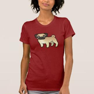 Barro amasado del dibujo animado camiseta